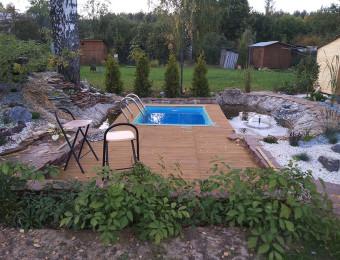 Строительство бассейна. Апрель 2014