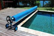 Сматывающие устройства для плавающих покрывал