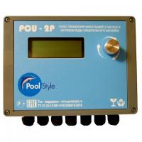 Пульт автоматического управления фильтрацией (2 насоса) и нагревом воды «PoolStyle PCU-2P»