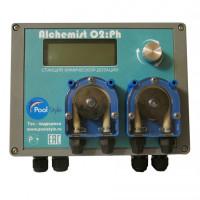 Пульт автоматического управления дозированием химических реагентов «PoolStyle Alchemist O2 Ph»