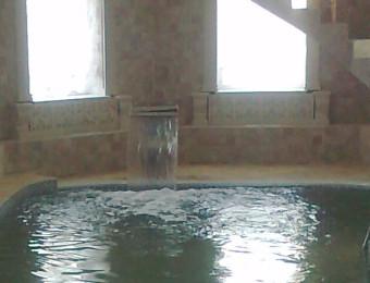 Строительство бассейна в лесном городке. Декабрь 2013