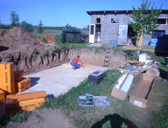 Строительство уличных бассейнов. Июнь 2008