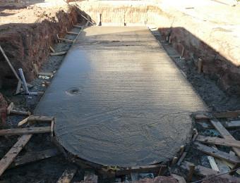 Cтроительство бассейна из PPP панелей