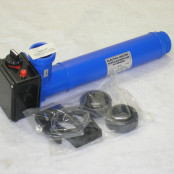 Электронагреватель пласт. корпус с датчиком потока 12 кВт